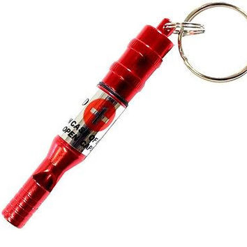 SCURRY  Emergency Whistle With Vital Information Note Inside: TW-32112-Z04 :  (