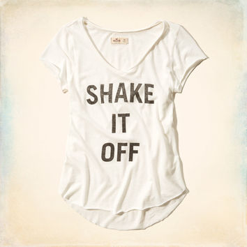 Shake It Off Graphic T-Shirt