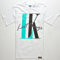 Last Kings Everlast Mens T-Shirt White  In Sizes