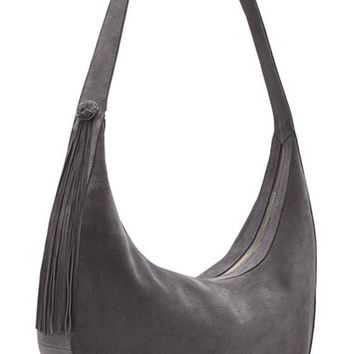 Elizabeth and James 'Large Zoe' Suede Hobo Bag | Nordstrom