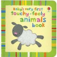 Usborne Books & More. Baby's Very First Touchy-Feely Animals Book