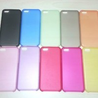 For Apple iPhone 5c Super Slim 0.3 mm Hard Plastic Snap On Case