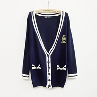 A 072909 College Wind long fashion women's sweater