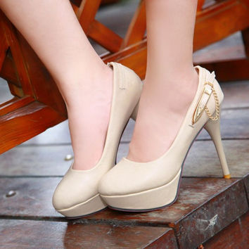 New red bottom high heels platform shoes round toe wedding shoes white party shoes sapatilhas femininas women dress shoes
