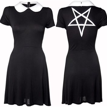 Wednesday Dress by Disturbia