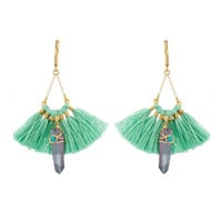 Beautiful Celeste Tassel Earrings