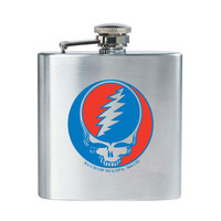 Grateful Dead - Steal Your Face Stainless Steel Flask