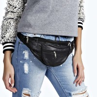 Eve Leather Zip Detail Bumbag