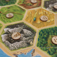 Settlers of Catan Replacement Ports and Number Tokens