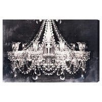 Dramatic Entrance Night Canvas Print, Oliver Gal