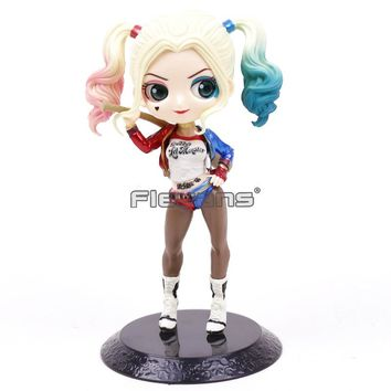 Q Posket Petit DC Comics Suicide Squad Harley Quinn PVC Figure Collectible Model Toy