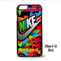 Nike Just Do It Full Color for iPhone 6, iPhone 6s, iPhone 6 Plus, iPhone 6s Plus Case
