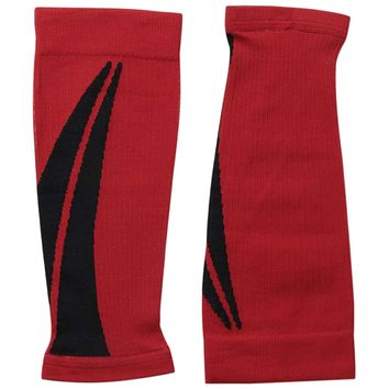 Altra Interval 1.0 Light Compression Calf Sleeve - Red/Black