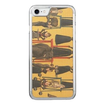 TOP Bodybuilding Girl Carved iPhone 7 Case