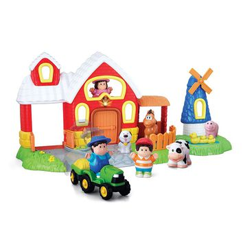 Happy Kid Toy Group Barn & Farm Play Set