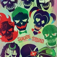 Suicide Squad Worst Heroes Ever MightyPrint Wall Art