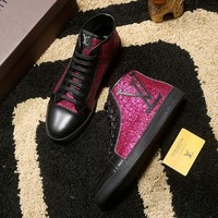 Louis Vuitton Women Or Men Sequin Casual Shoes