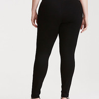 Slim Fix Pixie Pant - Black All-Nighter Ponte (Regular)