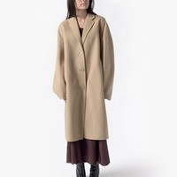 Avalon Double Coat in Camel Beige