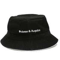 Drowning All Nemesis Kindly — Scheme & Acquire Bucket Hat in Black