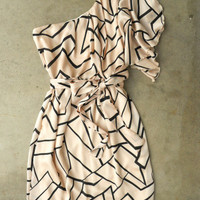 Geometric Angles Dress [3082] - $32.30 : Vintage Inspired Clothing & Affordable Fall Frocks, deloom | Modern. Vintage. Crafted.