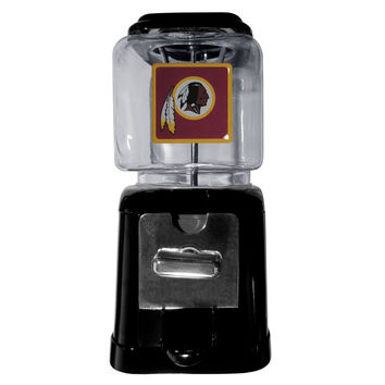 Washington Redskins Black Gumball/Candy Machine FGM135