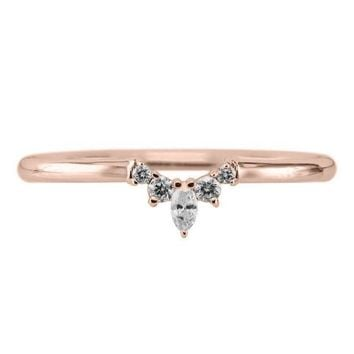 Etta Diamond Contour Band