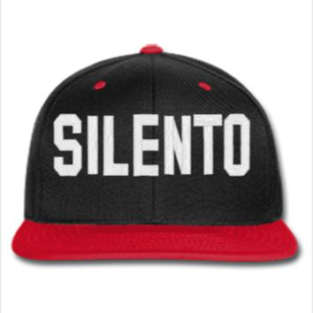 silento Embroidery - Snapback Hat