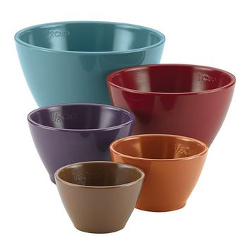 Rachael Ray Cucina 5-pc. Melamine Nesting Measuring Cup Set