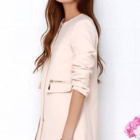 From Paris, With Love Blush Coat
