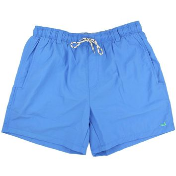 Dockside Swim Trunk in Breaker Blue by Southern Marsh