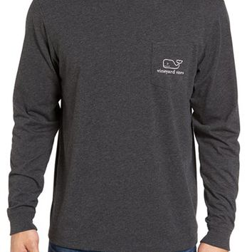 Vineyard Vines 'Vintage Whale' Long Sleeve Pocket T-Shirt | Nordstrom