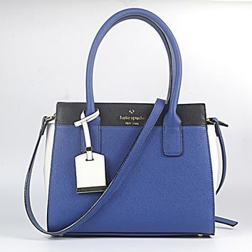 Kate Spade Women Shopping Leather Tote Crossbody Satchel Shoulder Bag H-YJBD-2H-5