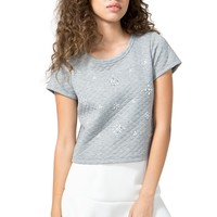 Shine On Quilted Tee