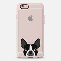 Boston Terrier Cell Phone case for dog lovers dog person gifts clear iphone case black and white puppy iPhone 6s case by Pet Friendly | Casetify