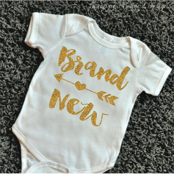 Newborn Girl Take Home Outfit Brand New Hospital Outfit Newborn Take Home Outfit Brand New Arrow Infant Shirt Baby Outfit Baby Take Home 090