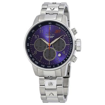 Invicta S1 Rally Blue Dial Mens Chronograph Watch 23087