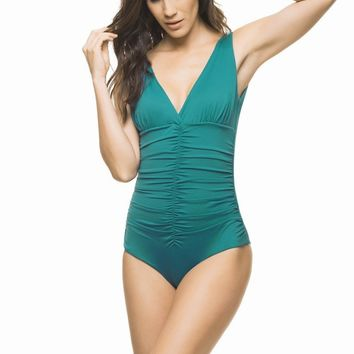 Estivo Green Blue One Piece
