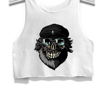 LMFGW7 The Undertaker George Rr Martin Game Of Thrones Womens Crop Tank Top