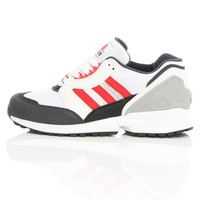 Adidas Equipment Cushion Running White/Collegiate Red D67568 | Free UK Shipping and Returns