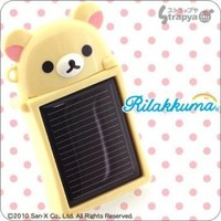 San-X Rilakkuma Solar Charge eco for iPhone 4/3G(S)(Korilakkuma)