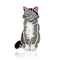 Bling Jewelry Pretty Kitty Brooch