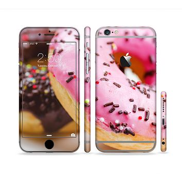 The Sprinkled Donuts Sectioned Skin Series for the Apple iPhone 6 Plus