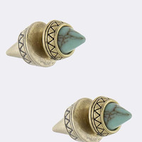 Cone Double-Sided Earrings