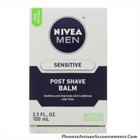 Nivea for Men Post Shave Balm, Sensitive - 3.3 fl oz bottle