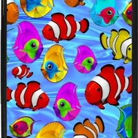 GrabYourDesign - Case for Iphone 7/8 Tropical Fishes 3d Pattern - by BluedarkArt