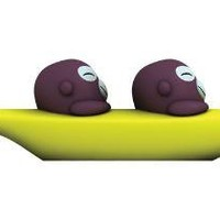 banana boys salt & pepper set