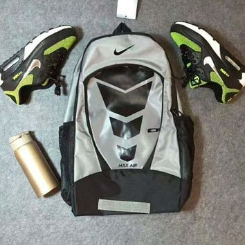 Kalete NIKE Air Casual Leisure sports backpack Outdoor travel bag Backpack bag H-PSXY""