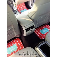 Car Accessories for Women |  Monogram Car Mats | Gift For Her