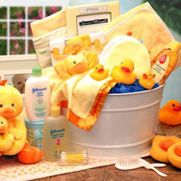 Deluxe Bath Time Baby Gift Basket